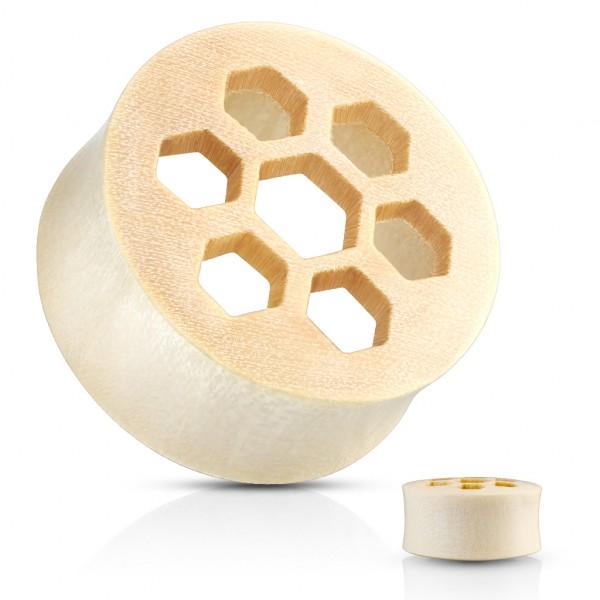 Plaster Miodu Plug Organiczny do ucha z drewna Crocodile