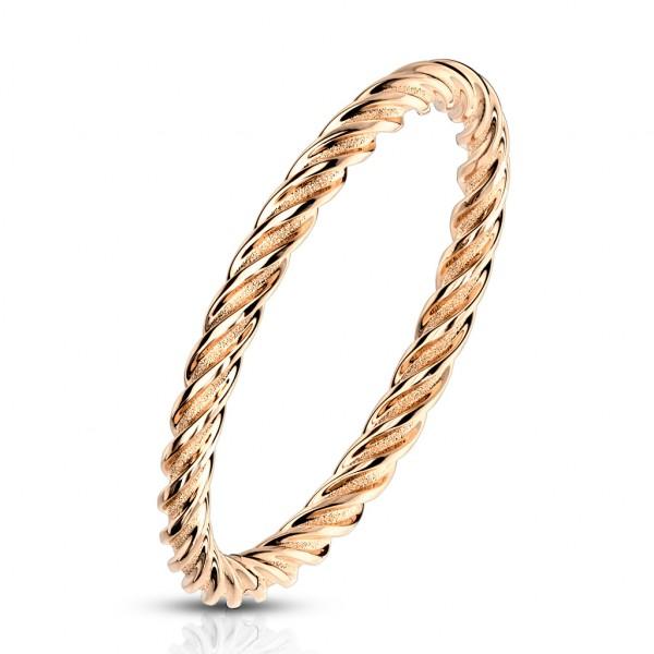 Łańcuszek pierścionek damski obrączka