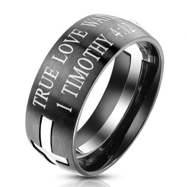 Napis obrączka pierścionek damski męski