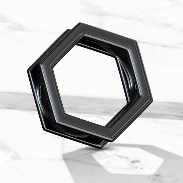 Hexagon Tunel do uchaczarny PVD