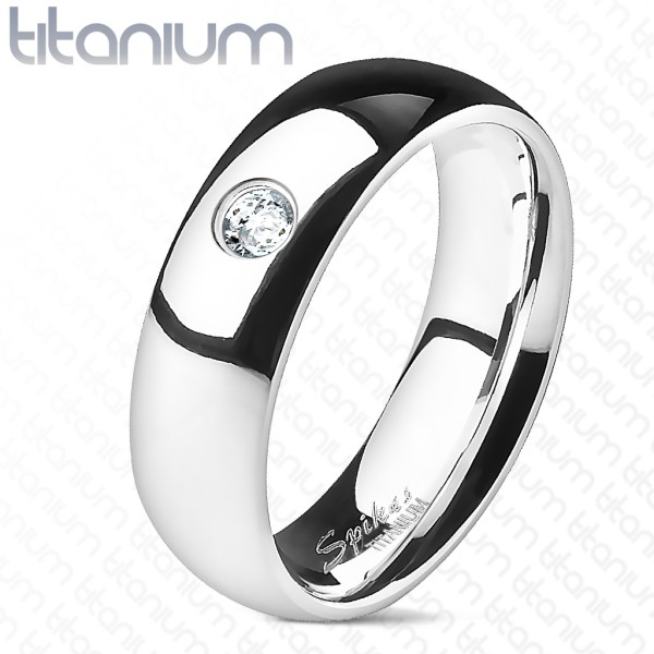 Cyrkonia klasyczna elegancka obrączka pierścionek damski męski