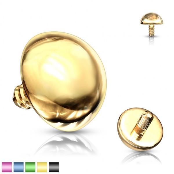 Nakrętka Dermal Anchor Top Implant piercing z powłoką tytanową