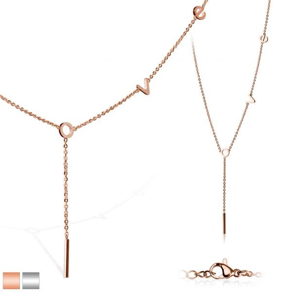 Elegancki złoty lub srebrny łańuszek dla pań idealny na prezent