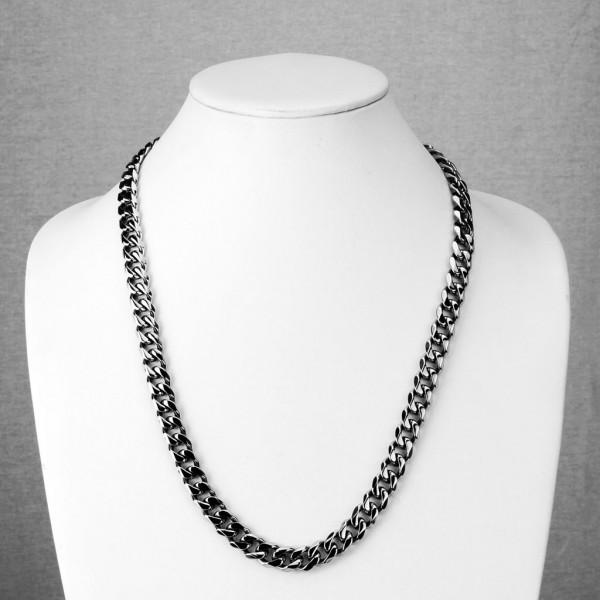 Łańcuch na szyję biżuteria męska