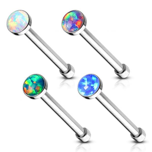 4 sztuki zestaw kolczykówi do nosa Opal