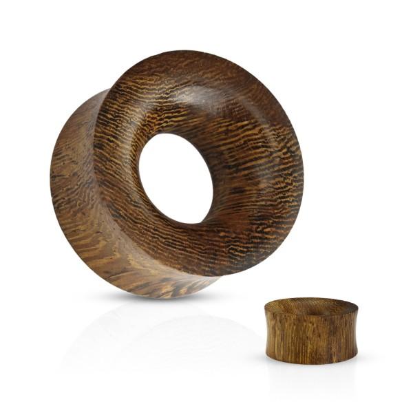 Snake Wood Plug Flesh Tunnel piercing kolczyk do ucha
