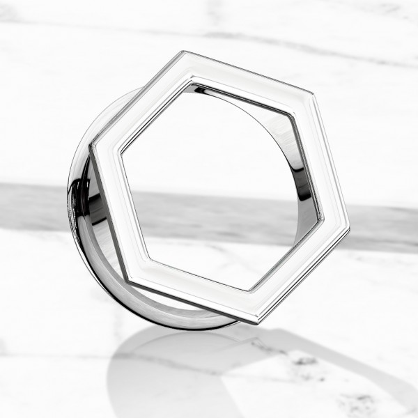 Hexagon Tunel do ucha stal chirurgiczna